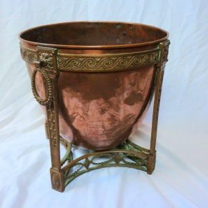 19th Century Victorian Solid Bronze Champagne Bucket Cooler