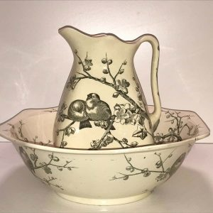 George Jones Almonds pattern Huge Jug And Basin Bowl