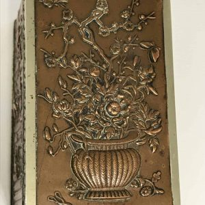 Antique Japanese Meiji Period Mixed Metal Box