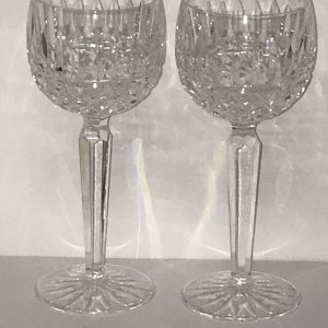 Irish Waterford Crystal Wine Hock Glass Maeve