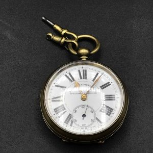 Antique 1940s Railway Timekeeper Pocket Watch