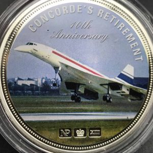 2013 Concorde 2oz Silver Numis Proof Coin Numisproof limited edition