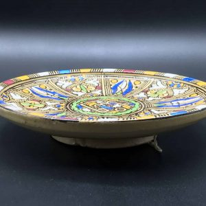 20th Century Moroccan Islamic Hand Painted Bowl or Plate Fes / Fez