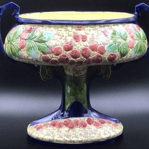 Antique Art Nouveau Pottery Vase Duxer Porzellen Royal Dux DPM
