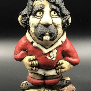 John Hughes Grogg Davies The Dash Welsh Pottery Rugby Player