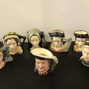 Royal Doulton Henry Viii And His Six Wives Character Jugs