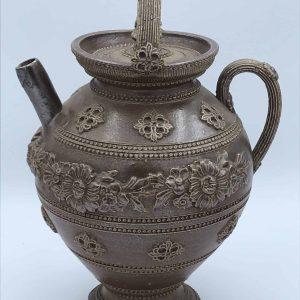 Antique 19th Century Salt Glaze Ewer