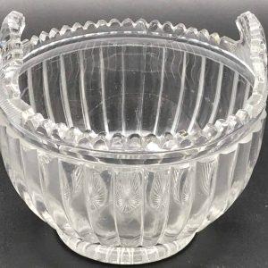 Rare Georgian Irish Cut Glass Piggin Circa 1820