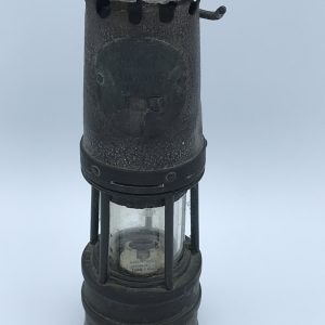 Antique Miners Lamp by Hailwood Ackroyd and best