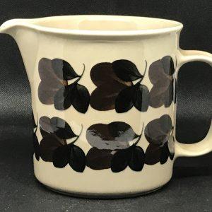 Arabia Finland Pottery Jug Ruija Danish Designs.
