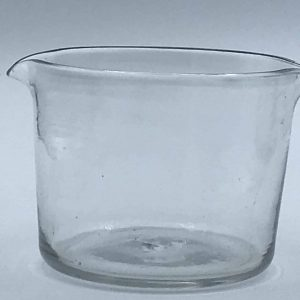 Antique Georgian 19th Century Double Lip Wine Glass Rinser / Cooler