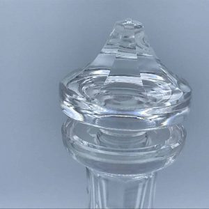 Wine Decanter with Stopper Colleen Short Stem (Cut) by WATERFORD CRYSTAL