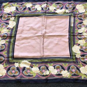 Group Vintage Pure Silk Scarfs Christian Dior Jane Shilton Mary Quant