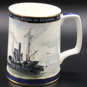 Royal Doulton Bone China Tankard The Evacuation of Dunkirk