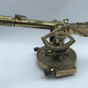 WWW1 Antique Brass Theodolite by E R Watts & Sons No 503 – No 5 MK1