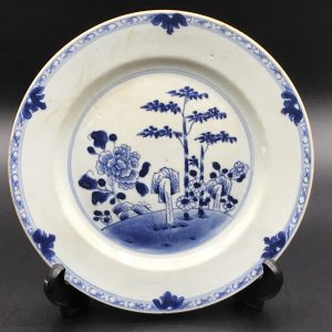 18th Century Qianlong Period Chinese Porcelain Plate Circa 1760 CPP1