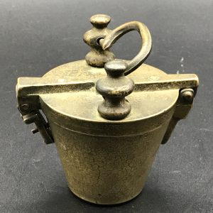 20th Century Bronze Nesting Cup Apothecary Weights