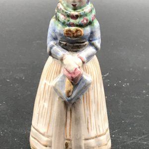 Mid Century Danish Stoneware Pottery Figurine L Hjorth