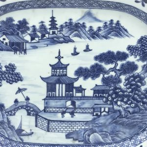 18th Century Chinese Porcelain Platter Qianlong
