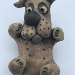 Welsh Pottery John Hughes Grogg Bull Dog
