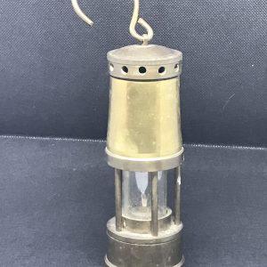 Small Brass Welsh Miners Lamp Miniature / Midget