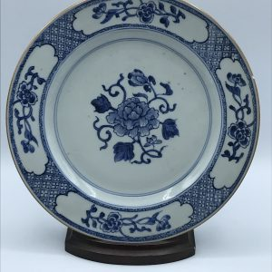 18th Century Chinese Porcelain Yongzheng Period Plate