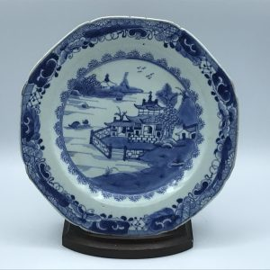 18th Century Qianlong Chinese Porcelain Plate Circa 1780