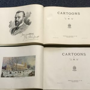 Rare Books Cartoons By J.M Staniforth Vol 1 & II