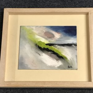 Abstract Modern Art Painting Seascape Beatrix Byrne