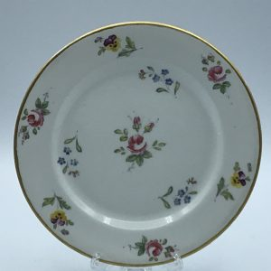 19th Century Circa 1820 Hand Painted Porcelain Plate Swansea ( Welsh )