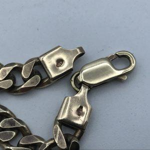 8 inch 9ct Yellow Gold Bracelet 15.5 grams