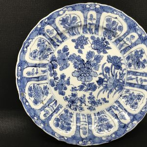 Kangxi Porcelain Blue And White Plate 18th Century Chinese