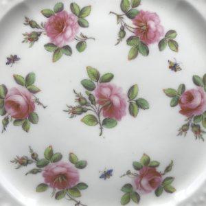 19th Century Nantgarw Porcelain Plate Circa 1815 Welsh ( 3 )
