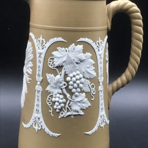 19th Century Jasper Ware Jug By Dudson No 996