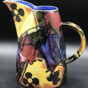 Dartington Studio Pottery Jug Janice Tchalenko