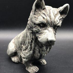 1930s alloy Model of a Terroir Dog