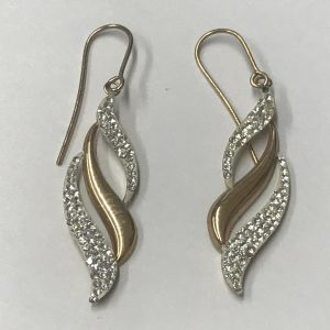 Pair 9ct Yellow Gold Earrings