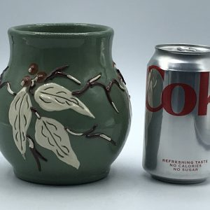 Antique English C H Brannam Arts And Crafts Pottery Vase