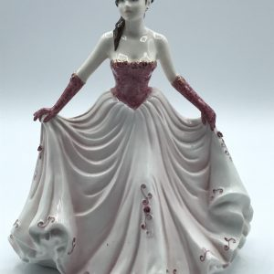 COALPORT  HAPPY BIRTHDAY  Figurine Hand Decorated Modelled by Jack Glynn