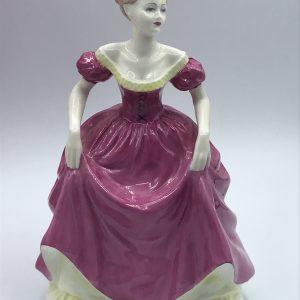 Coalport Flair Bone China Figurine Ladies Of Fashion Collectors Item With Box