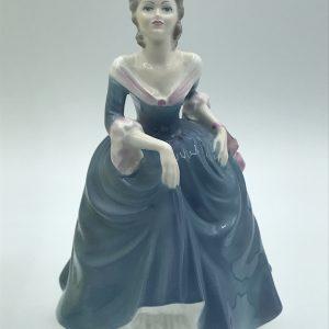 Coalport Regina Bone China Figurine Ladies Of Fashion Collectors Item With Box