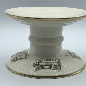 Harrod's Hock Ham Stand – Mason's Ironstone Van Pedestal Christmas Retro