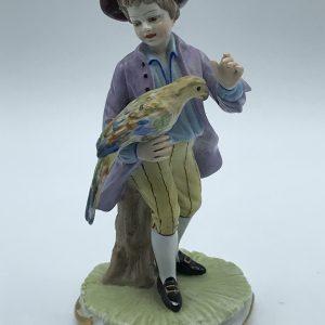 Antique Capodimonte Porcelain Figure San Marco