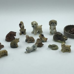 Collection of English Wade Porcelain Animals Including Disney
