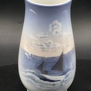 Danish Porcelain Vase Royal Copenhagen Denmark