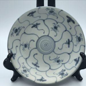 19th Century Chinese Porcelain Tek Sing Cargo Dish 1822