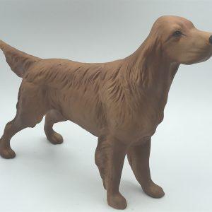 Large English Coopercraft Ceramic Setter Dog