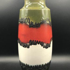 Large West German Pottery Vase Scheurich 239 41