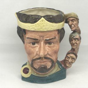 MACBETH ROYAL DOULTON TOBY  CHARACTER JUG D 6667 SHAKESPEAREAN COLLECTION