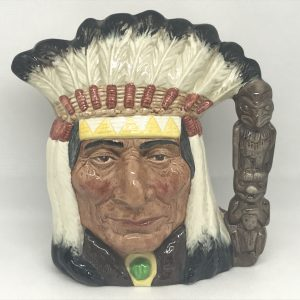 """North American Indian"""" 1st Quality Royal Doulton Large Character/Toby Jug D6611"""